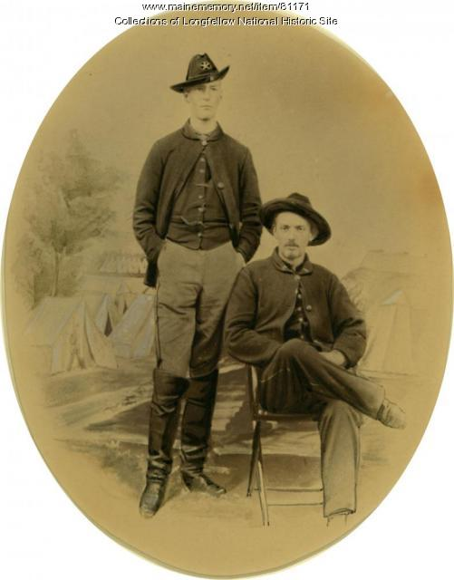 Lts. Longfellow and Gleason, Culpeper VA, 1863