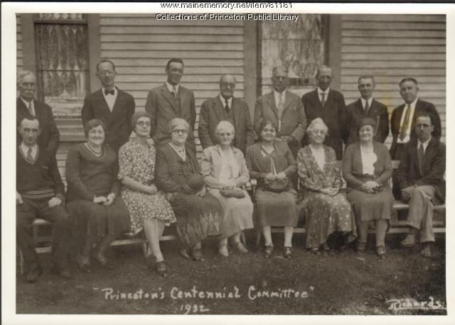 Centennial Committee, Princeton, 1932