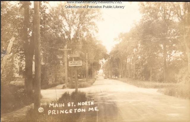 Main Street, Princeton, ca. 1910