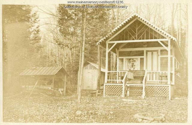 Lambert Camp, Monson, ca. 1900