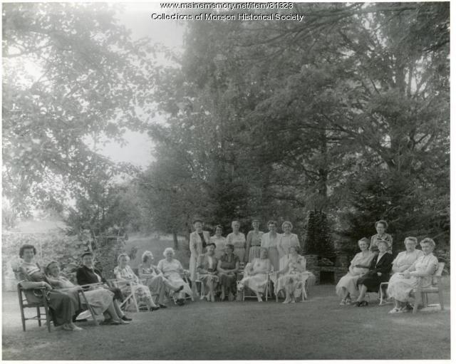 Tisbury Manor Daughters of the American Revolution, Monson, ca 1955