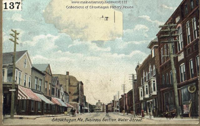 Water Street  looking Easterly Ca. 1904