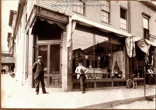 Sampson's Corner, Skowhegan, ca. 1900