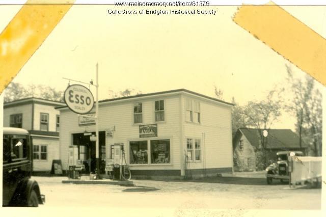 Esso Station, Bridgton, ca. 1938