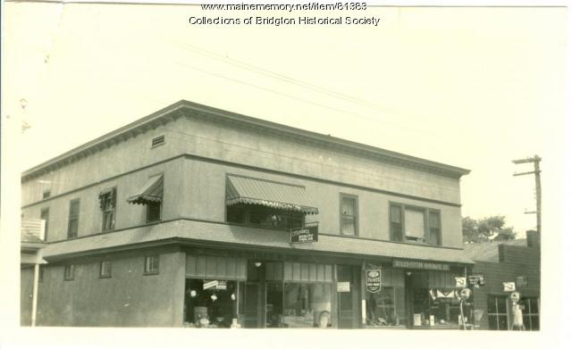 Stiles & Fitton Hardware, Bridgton, ca. 1938