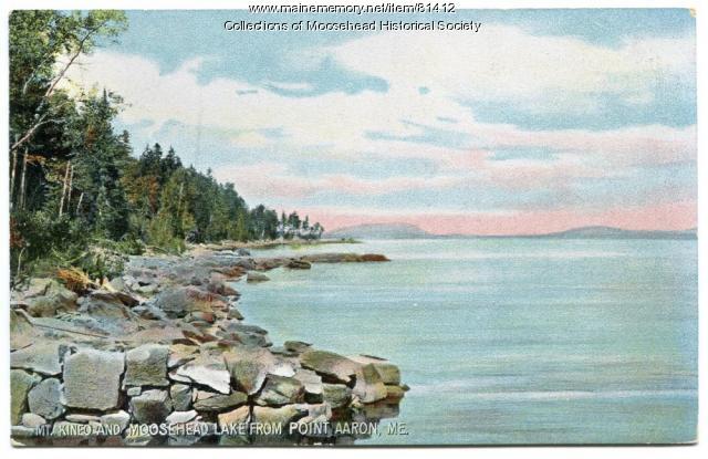 Moosehead Lake & Mount Kineo, ca. 1910
