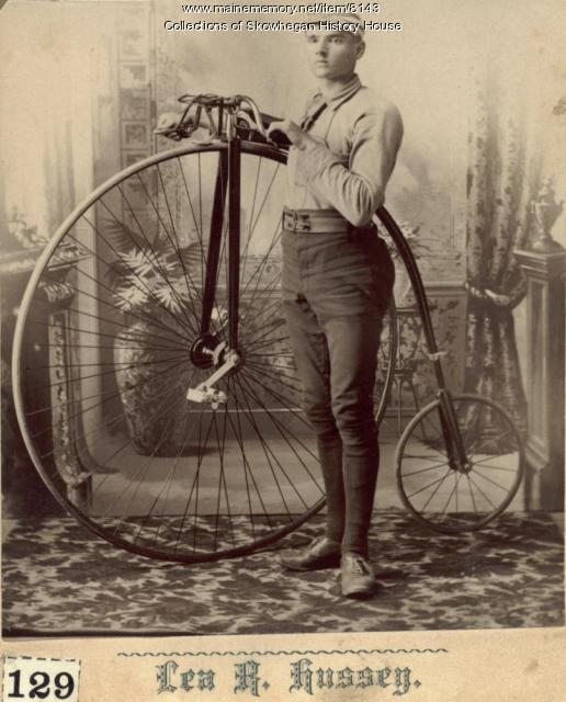 Edgar C. Dunton, Skowhegan, 1888