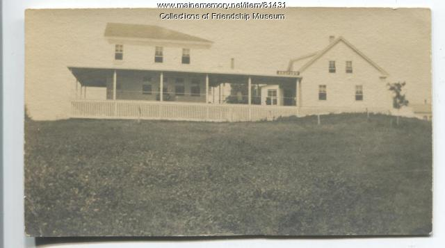 The Seaview Hotel, Friendship, ca. 1910