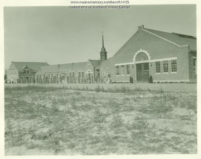 Portland Water District Douglass Street Facility, Portland, ca. 1928