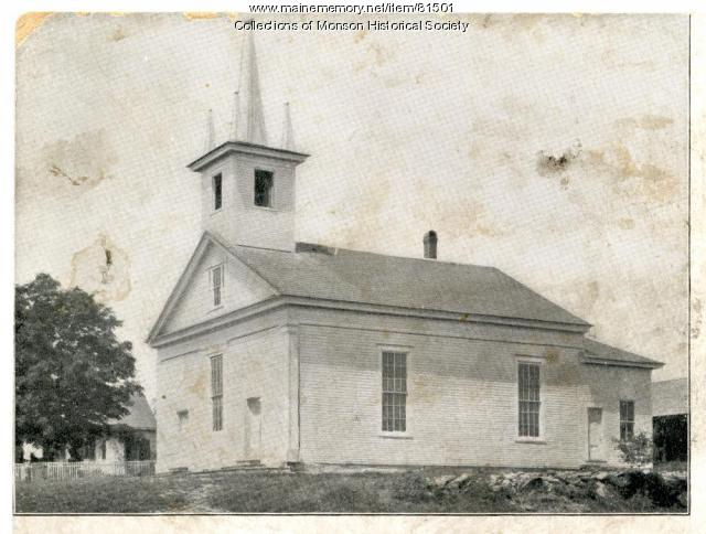 Baptist Church, Monson, 1899