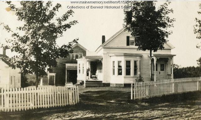 Randall Homestead, Berwick, 1907