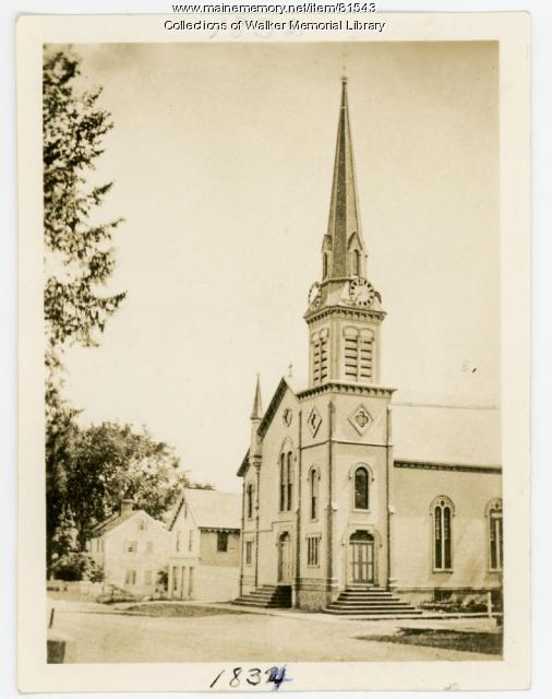 Westbrook Congregational Church, Westbrook, ca. 1915