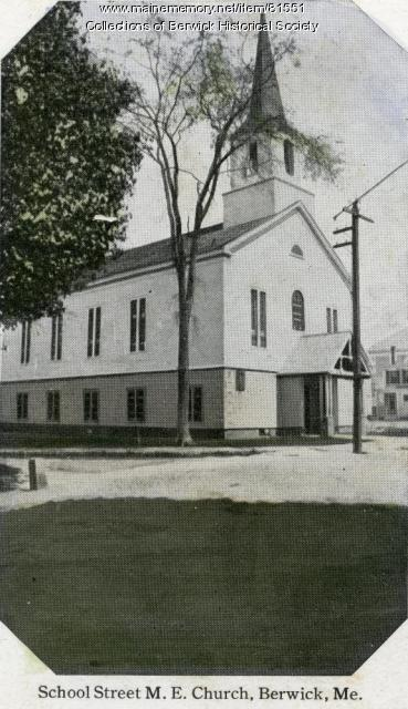Methodist Episcopal Church, Berwick, ca. 1900