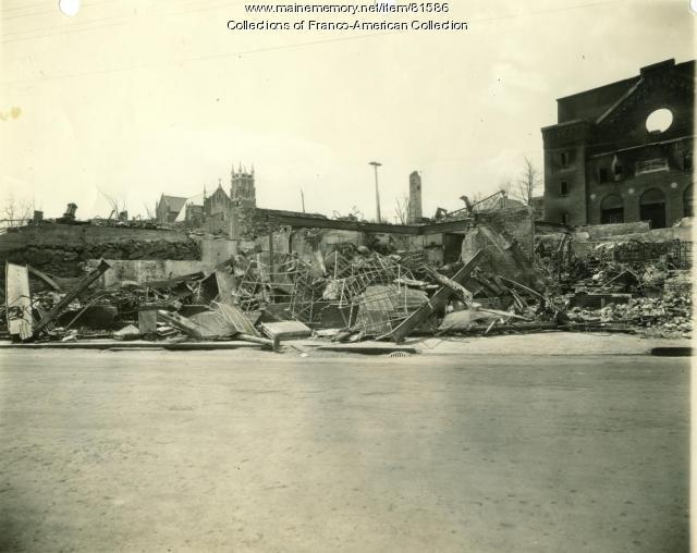 Dupont Bakery Ruins, Auburn, 1933