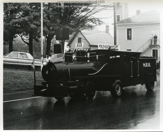 Monson Sesquicentennial Parade, Monson, 1972
