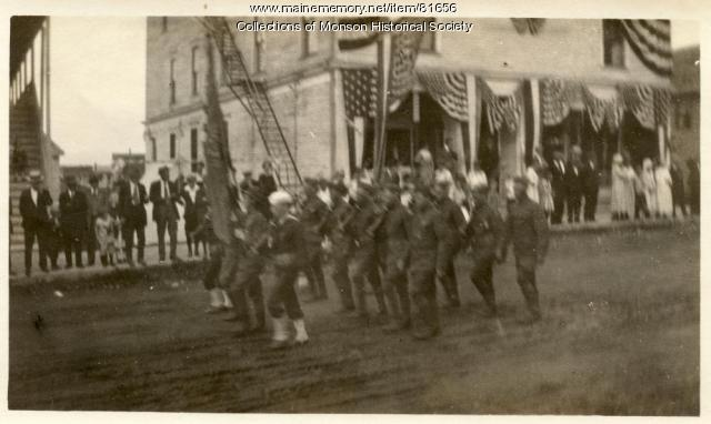 Monson Centennial Celebration parade, Monson, 1922