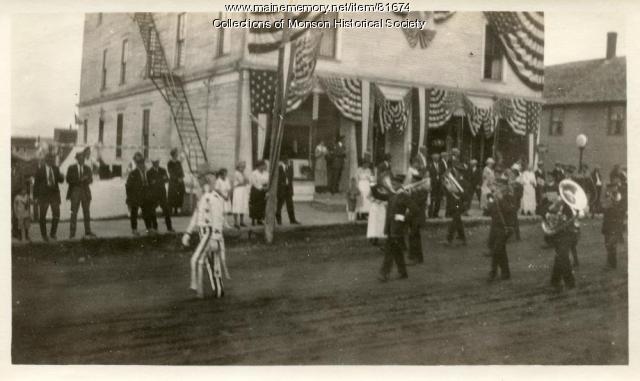 Monson Centennial Parade, Monson, 1922