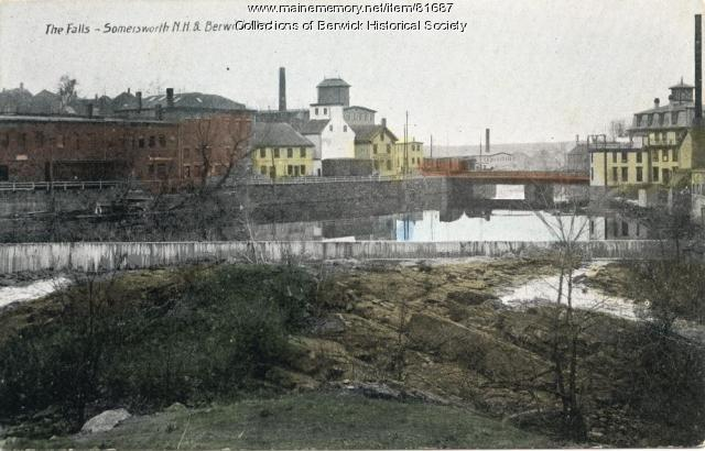 Salmon Falls River Bridge, Berwick, ca. 1900