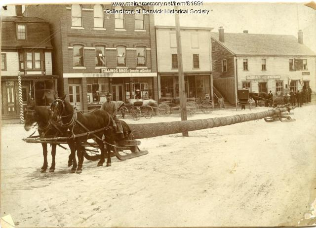 Sullivan Square, Berwick, ca. 1890