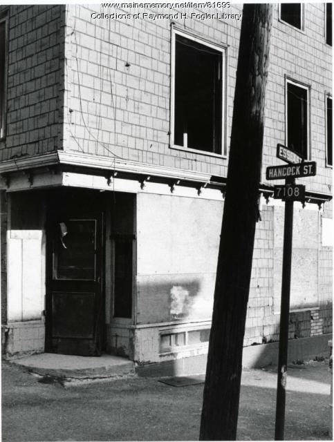 William S. Cohen birth house, Bangor, ca. 1976