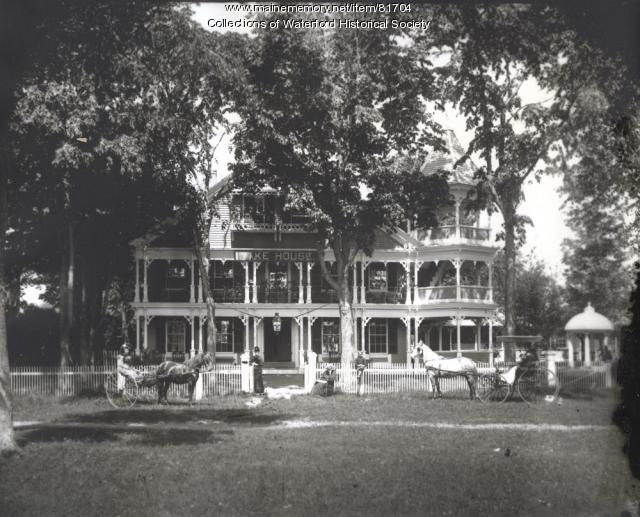 Lake House, Waterford, ca. 1890