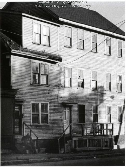 Hancock Street building, Bangor, ca. 1976