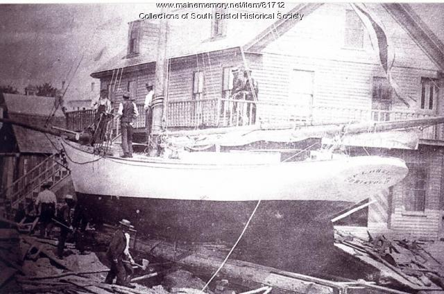 "Launching of ""Florence"", South Bristol, 1894"