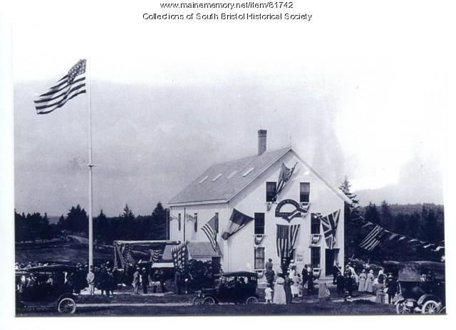 Celebrating the new town of South Bristol, August 1918.
