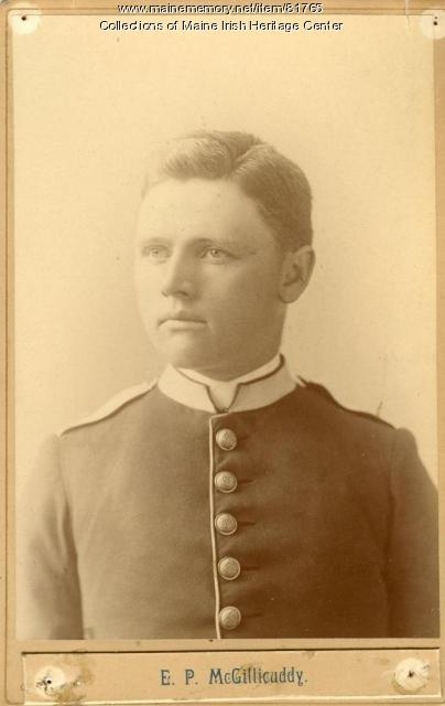 Eugene P. McGillicuddy, Portland, ca. 1890