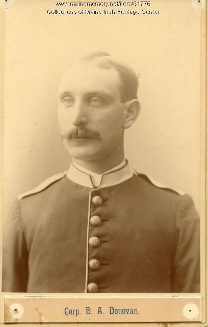D. A. Donovan, Portland, ca. 1890