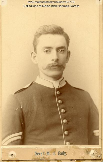 Michael J. Cady, Portland, ca. 1890