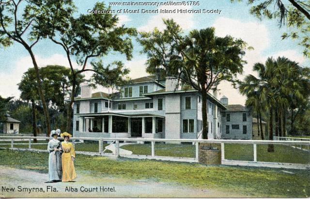 Alba Court Inn, New Smyrna, Florida, ca. 1908