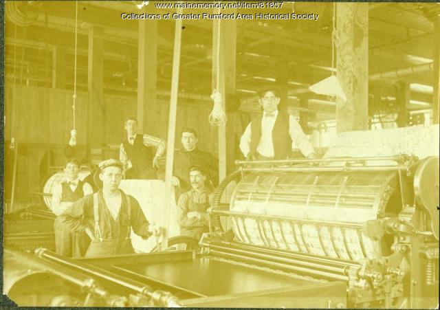 Oxford Paper Company's Postcard Mill, Rumford, 1903