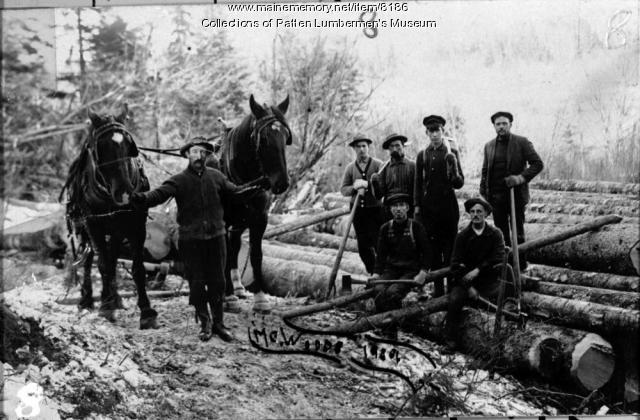 Hamp Stockford-Log yard, crew, and team
