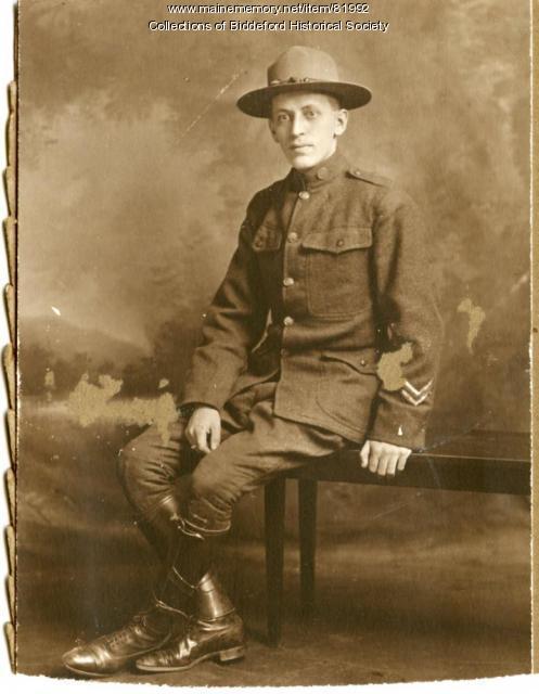 Oliva Bolduc, Biddeford, 1917