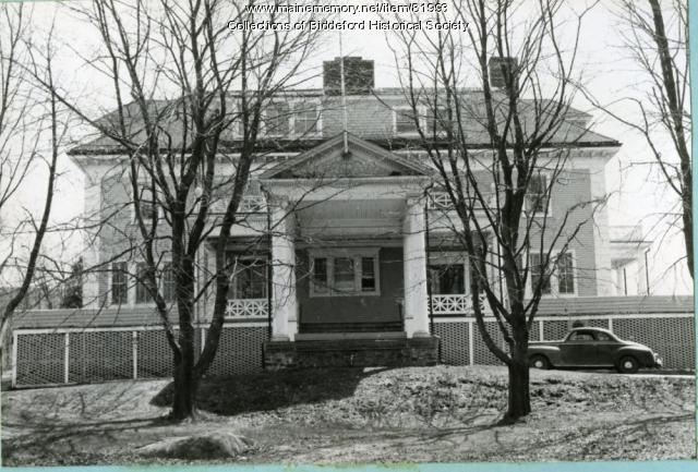 Trull Hospital, Biddeford, ca. 1955