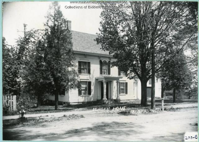 Nurse's Home, Biddeford, ca. 1908
