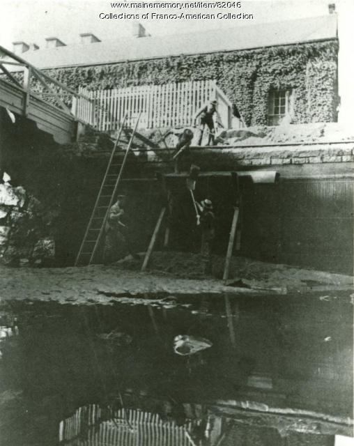 Canal Excavation, Lewiston, ca. 1845
