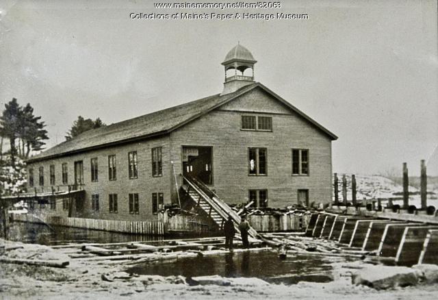 Falmouth Mill, Jay, ca. 1885