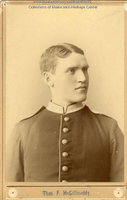 Thomas F. McGillicuddy, Portland, ca. 1890