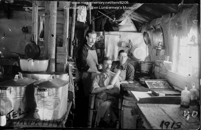 Cookroom, Telos, 1913