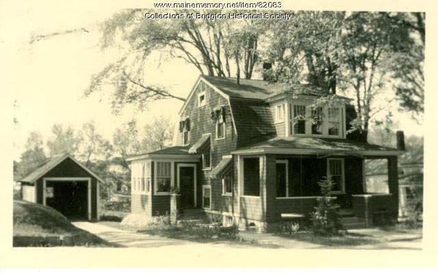 91 Main Street, Bridgton, ca. 1938