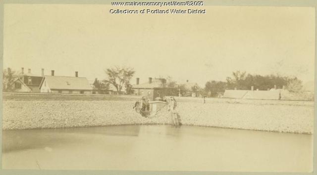 Bramhall Reservoir, Portland, ca. 1882