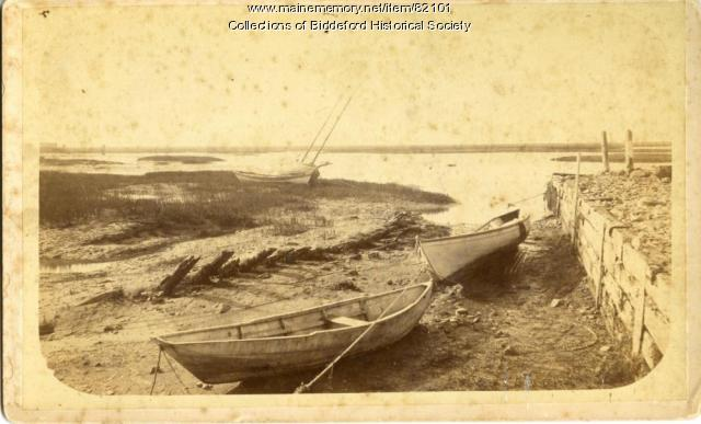 Wreck of the Schooner Equater, Biddeford, ca. 1957
