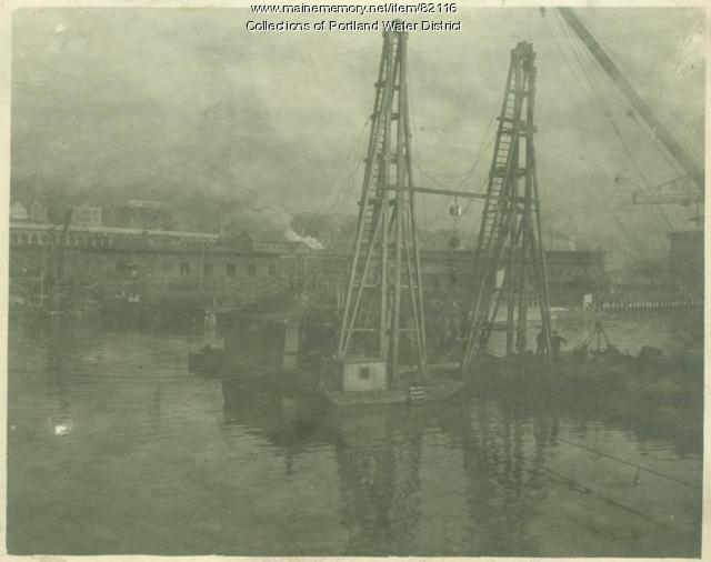South Portland Submarine Line 1922