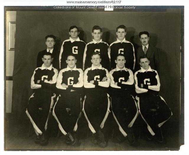 Gillman High School Boys Basketball Team ca early 1930's