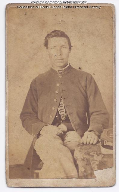 James Parker, Artificer, First Maine Heavy Artillery Regiment, ca. 1863