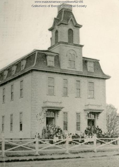 Sullivan High School, Berwick, 1872