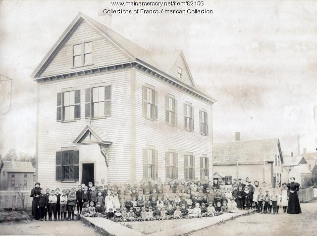 Little Canada School, Lewiston, 1900