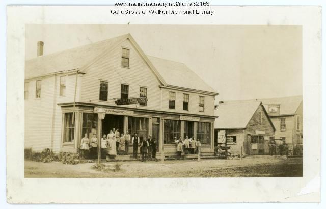 Main Street, Westbrook, 1880